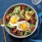 Breakfast Salad with Bacon Dressing