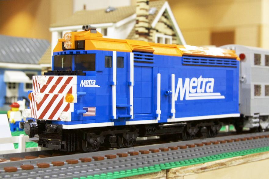 Library Invites All Ages to LEGO® Train Show Exhibit
