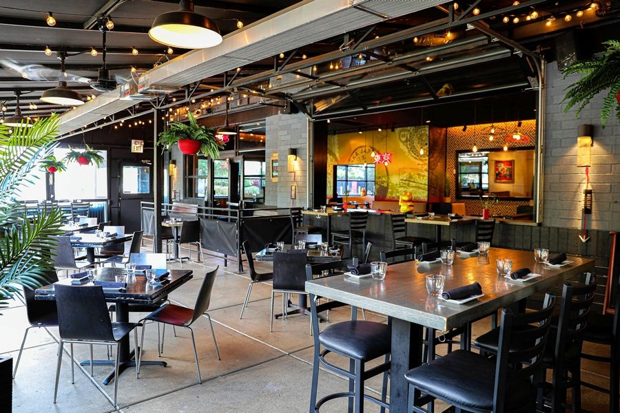Tokio Asian Fusion recently changed its name and refreshed its patio.