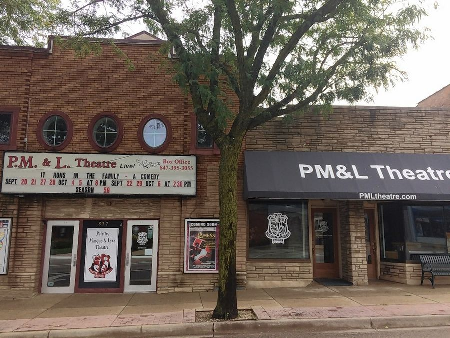 An exterior makeover of PM&L Theatre in downtown Antioch will include a three-dimensional marquee and lighting, and paint to tie it visually to space next door.