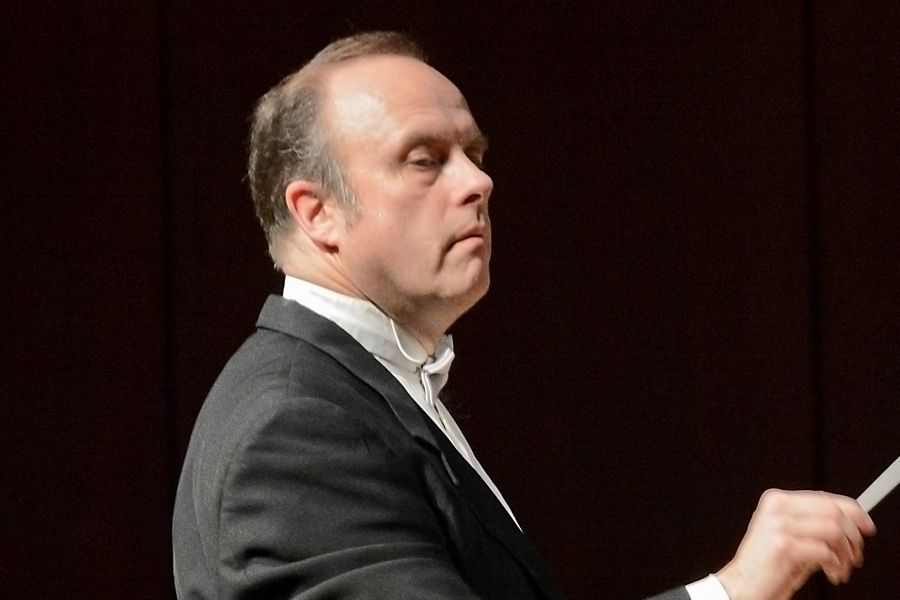 Elmhurst Symphony Orchestra Music Director and Conductor Stephen Alltop
