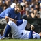 Chicago Cubs' Rizzo sprains right ankle; MRI Monday