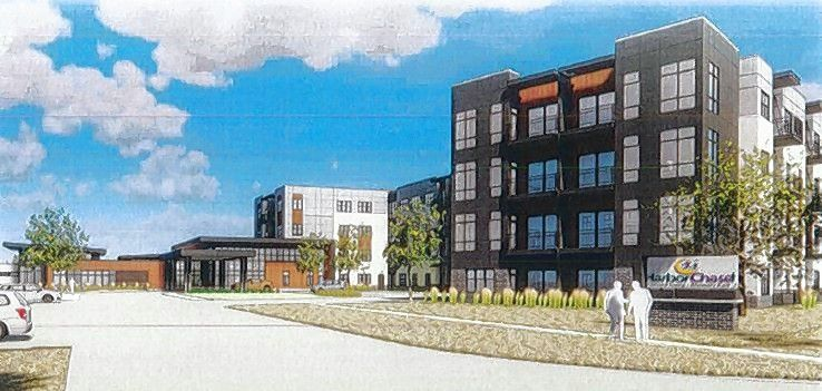 Florida-based Harbor Retirement Development LLC is building a 110-unit assisted living and memory care facility at the intersection of Algonquin Road and Progress Parkway in the northwest corner of the redeveloping former Motorola Solutions campus in Schaumburg.