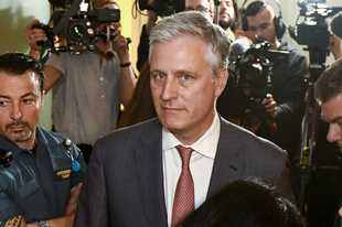Robert O'Brien, U.S. Special Envoy Ambassador, arrives at the district court where U.S. rapper A$AP Rocky is to appear on charges of assault, in Stockholm, Sweden. President Donald Trump says he plans to name O'Brien to be his new national security adviser.