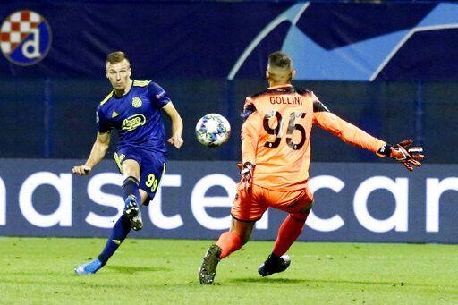 Orsic Hat Trick Helps Dinamo Zagreb End 11 Match Losing Run