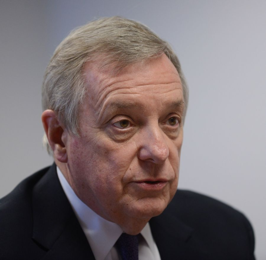 Democratic U.S. Sen. Dick Durbin of Springfield is among the co-chairs of the Congressional Caucus to End the Youth Vaping Epidemic, along with U.S. Reps. Raja Krishnamoorthi, a Schaumburg Democrat, and Peter King, a New York Republican.