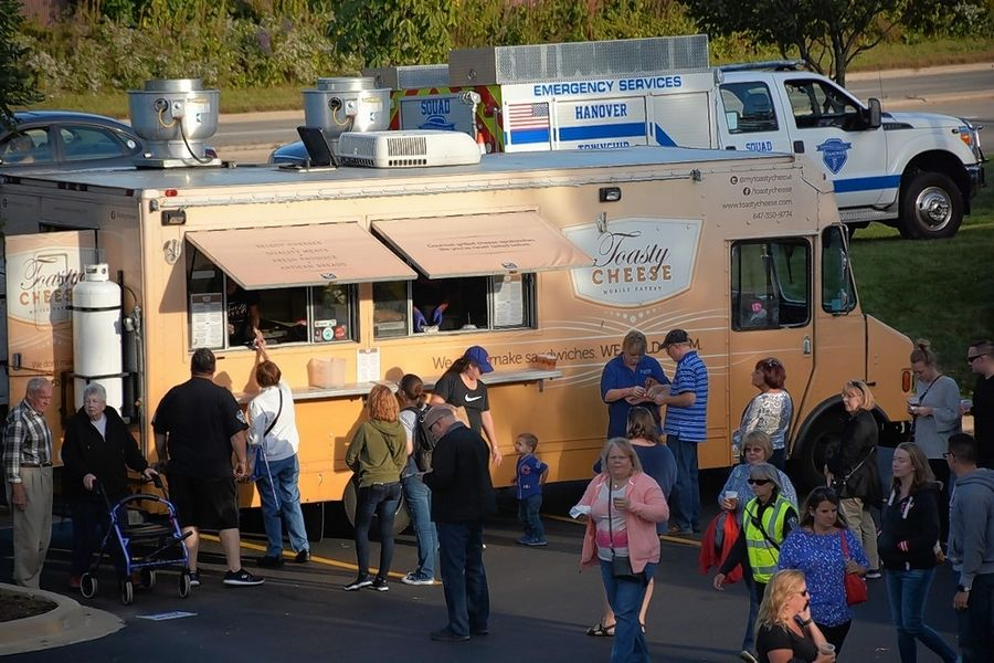 Hanover Township will host its annual Fall Food Truck Festival from 5 to 8 p.m. Thursday, Sept. 26.