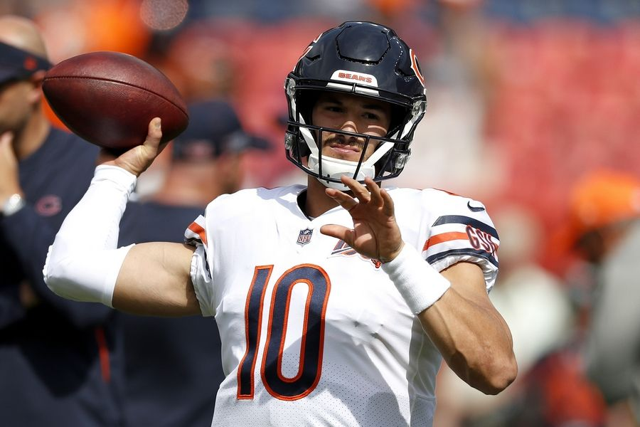 buy popular 7902a c4c4f Chicago Bears actually in a pretty good place with Trubisky ...