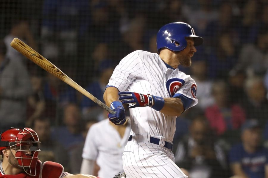 "Ben Zobrist calls Wrigley Field and playing for the Chicago Cubs ""the big leagues of the big leagues. That's the way the fans make you feel here."""