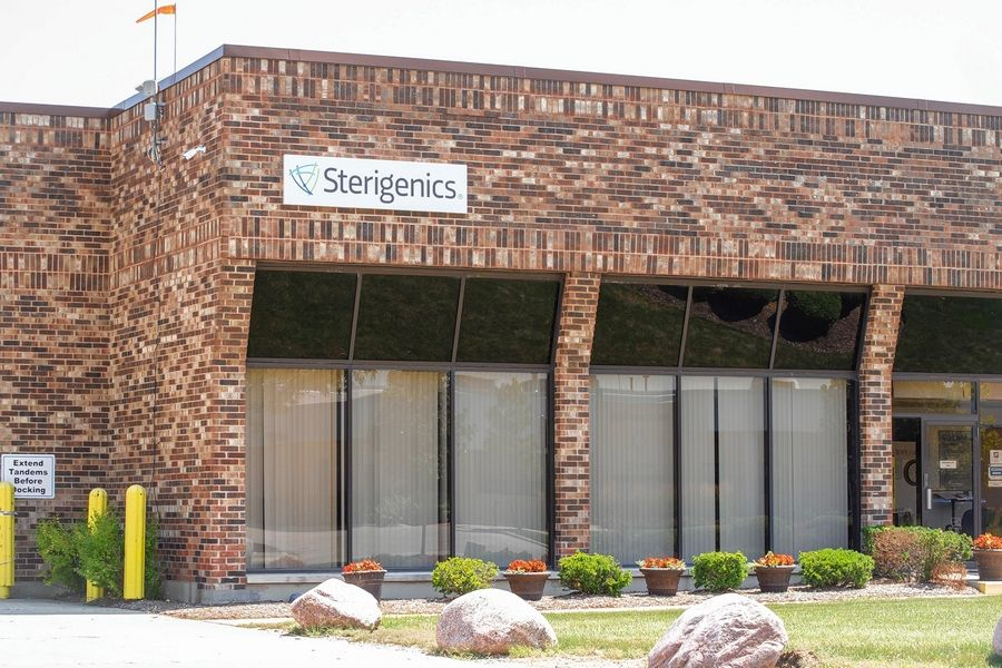 Jerry Nowicki/Capitol News IllinoisThe Sterigenics plant in Willowbrook has been closed since February.