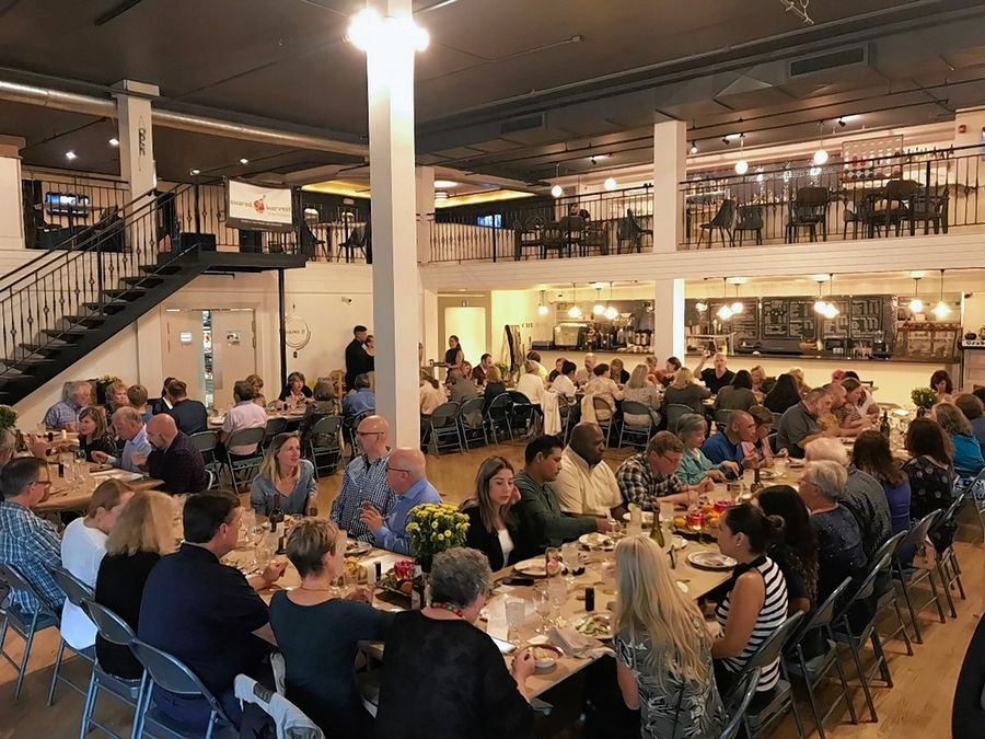 "Shared Harvest, a yet-to-open food cooperative in Elgin, held its annual ""farm-to-table"" fundraising dinner Sunday in Elgin. The board of directors might pick a downtown location and announce it at the Nov. 14 shareholder meeting."