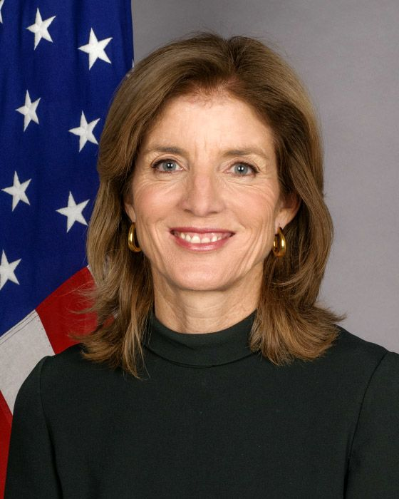 American author, attorney and diplomat Caroline Kennedy will keynote Judson University's 8th World Leaders Forum on Tuesday, Oct. 8, in Schaumburg.