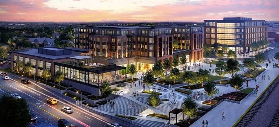 A baseline design for the 5th Avenue area near the Naperville Metra station could become more refined if the city council gives developer Ryan Companies the green light for further work and study. The council is set to discuss the project during its meeting Tuesday.