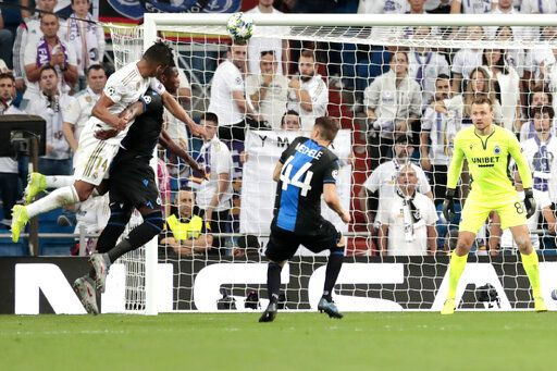 Real Madrid Salvages Home Draw Against Club Brugge
