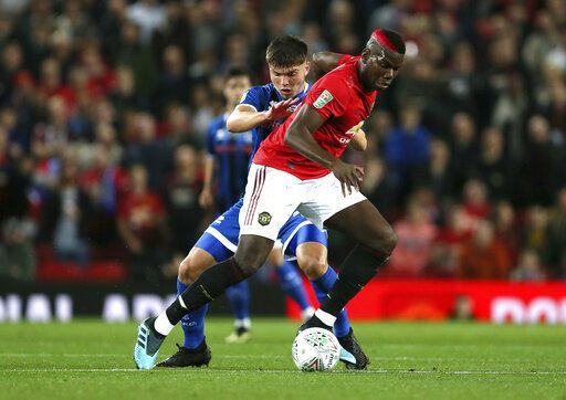 Man U Pogba Managing Foot Injury Out Of Europa League Game