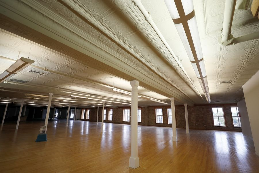 "Darren and Marilyn Mensching, a couple from St. Charles, turned the vacant top floor of the RR Donnelley Building at 168 E. Highland Avenue in Elgin into an event space. The Highland Lofts is 19,500-square feet and has a capacity for up to 600 people. The plan got the OK from the Elgin City Council last week and the space will be part of the ""Ring Around Elgin"" event Oct. 9 featuring 11 venues in and around Elgin, and organized by the Elgin Area Convention and Visitors Bureau."