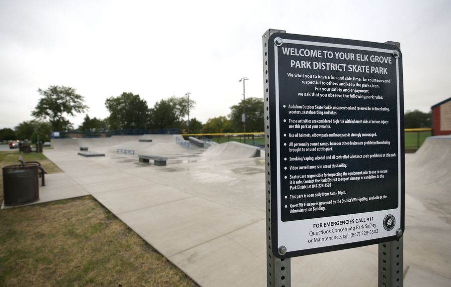 "After years of planning, the Audubon Skate Park -- modeled after what one might expect to see along a California beach -- will open this weekend in Elk Grove Village. ""It's a nice feature not just for Elk Grove, but the entire region,"" said Ben Curcio, executive director of the Elk Grove Park District."