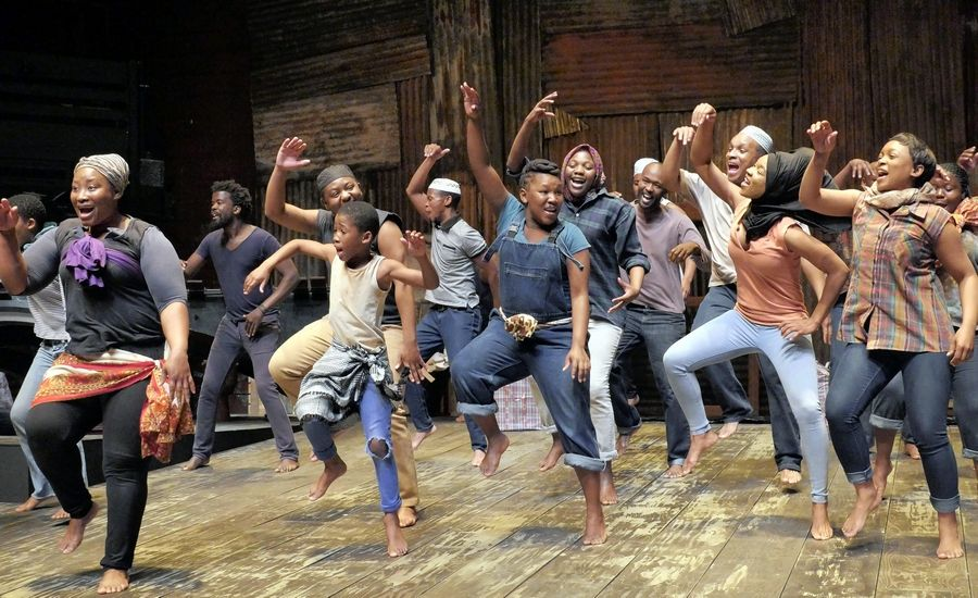 "As part of its WorldStage series, the Chicago Shakespeare Theater presents Isango Ensemble's ""A Man of Good Hope,"" based on the book by Jonny Steinberg and adapted and directed by Mark Dornford-May."