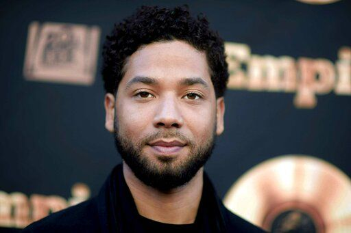 "FILE - In this May 20, 2016 file photo, actor and singer Jussie Smollett attends the ""Empire"" FYC Event in Los Angeles. A Chicago judge is expected to decide whether to let a former U.S. attorney stay on as special prosecutor examining the dismissal of charges against actor Smollett. The hearing Friday, Oct. 4, 2019, comes after Dan Webb revealed he co-hosted a fundraiser for Kim Foxx during her 2016 run for Chicago's top prosecutor job. Her office in March abruptly dropped charges accusing Smollett of staging a racist, homophobic attack on himself. (Richard Shotwell/Invision/AP, File)"