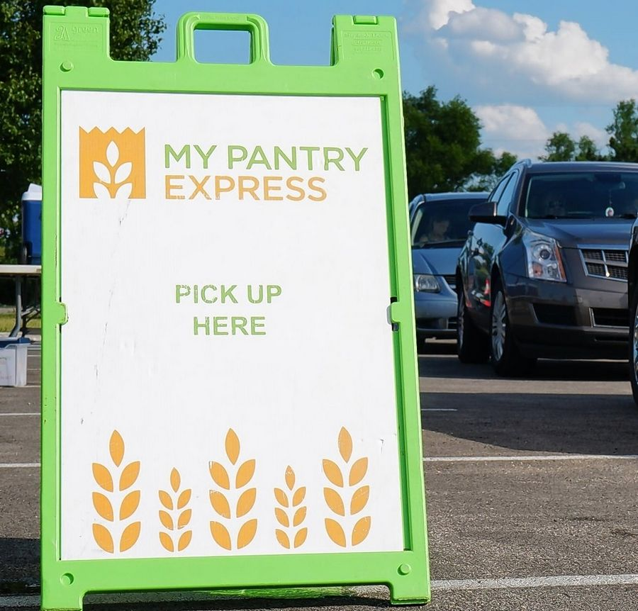 "Northern Illinois Food Bank's My Pantry Express program is in the running for the annual ""People's Choice Award,"" selected through online balloting. Last day to vote is Tuesday, Oct. 15."