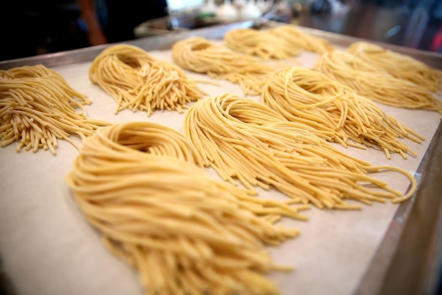 Spaghetti made from scratch is new to the menu at Woodfire.