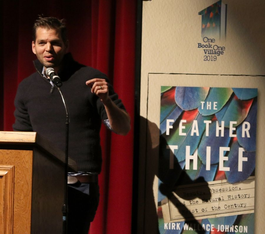 """The Feather Thief"" by Kirk Wallace Johnson tells the true story of a 20-year-old American music student who broke into a London museum in 2009 and stole 299 dead birds so he could harvest their valuable feathers and sell them to fly-tiers."
