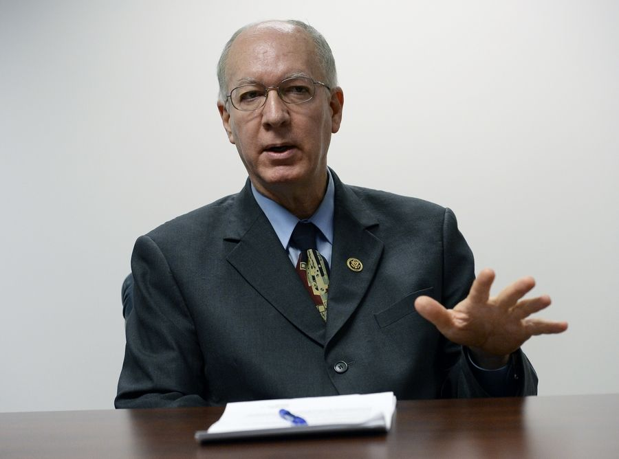 U.S. Rep. Bill Foster said President Donald Trump's decision to abandon Kurdish allies in Syria has caused very real national security concerns for the U.S.""