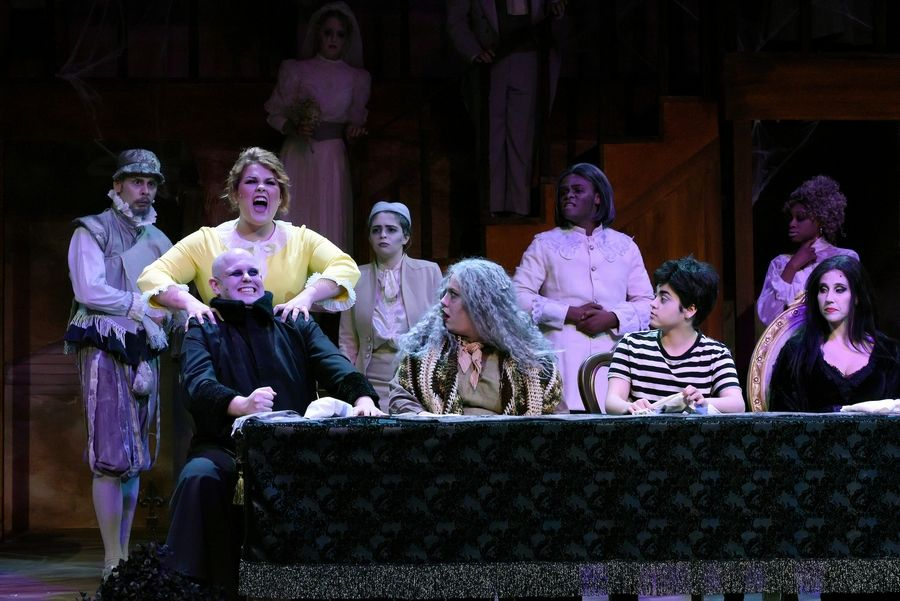 """The Addams Family"" was the 2019 musical presented by the College of Lake County's department of theater, music and dance."
