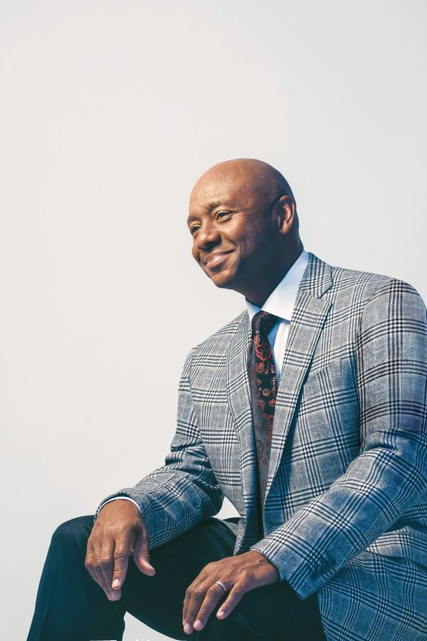 Grammy Award-winning jazz composer and musician Branford Marsalis performs at College of DuPage's McAninch Arts Center in Glen Ellyn on Saturday, Oct. 12.