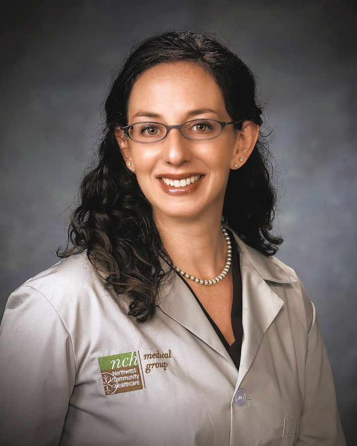 Dr. Allyson Jacobson, medical director of the Northwest Community Healthcare Breast Program