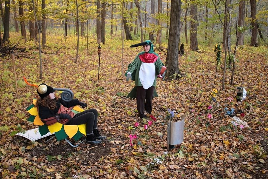 There is limited space available for Halloween Hikes that take place at Ryerson Woods Forest Preserve in Riverwoods Oct. 25.