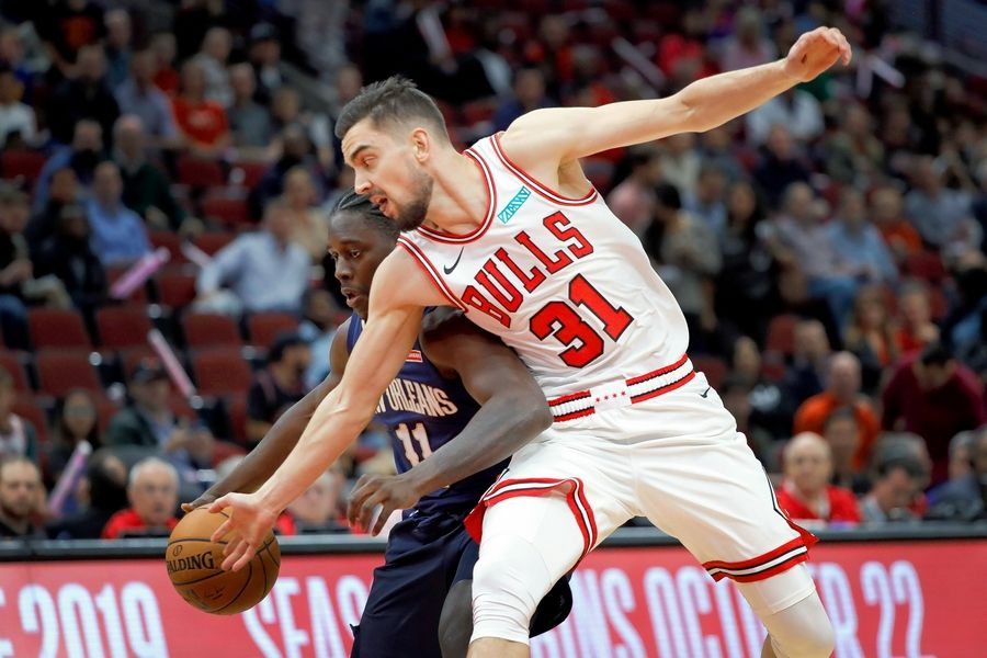 Bulls coach Jim Boylen officially named Tomas Satorasnky the starting point guard, but it's a move everyone saw coming months ago when the team tweaked the roster in the summer.