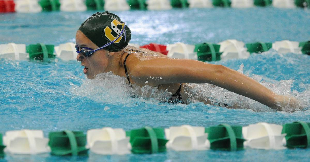 Girls swimming and diving: Stevenson downs Warren to stay unbeaten in NSC