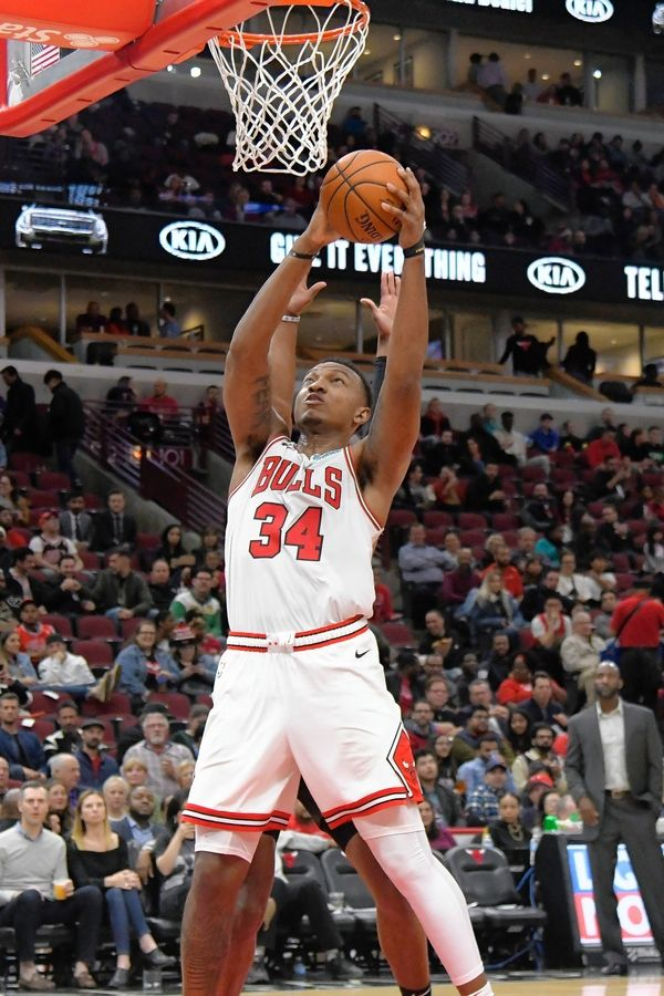 Before Thursday's preseason finale, Bulls center Wendell Carter Jr. was considered a game-time decision due to a sore thumb. But he did play and showed flashes of what the Bulls are hoping he'll be.