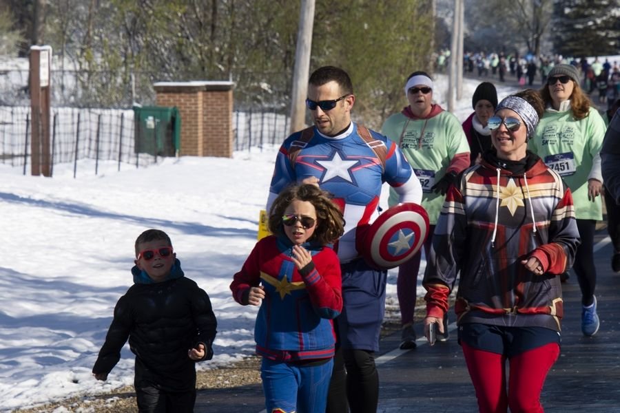 Even with the unusual spring snowstorm, heroes came out to support 71 charities serving McHenry County. The 10th annual Human Race, set for April 26, is the largest collaborative nonprofit event in McHenry County.