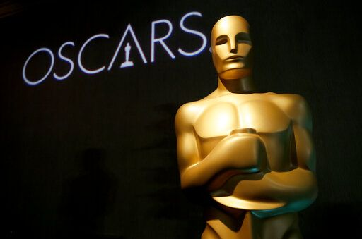 FILE - In this Feb. 4, 2019 file photo, an Oscar statue appears at the 91st Academy Awards Nominees Luncheon in Beverly Hills, Calif. An animated film about Grendel, a drama about a transgender woman and a documentary about a girl finding her birth parents in China are among the Student Academy Awards gold medal winners. The Academy of Motion Picture Arts and Sciences held the 46th edition of the event Thursday night, Oct. 17, 2019, in Beverly Hills. The awards spotlight emerging student filmmaking talent. Notable alumni include Pete Docter, Cary Fukunaga and Spike Lee. (Photo by Danny Moloshok/Invision/AP, File)