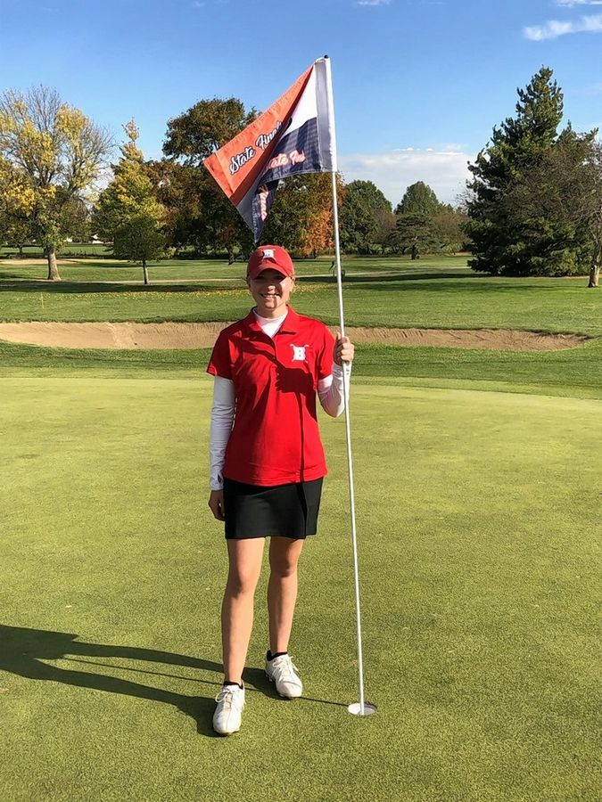 Barrington sophomore Mara Janess won the Class 2A state girls golf championship Saturday at Hickory Point Golf Club in Decatur. The Fillies finished second as a team.