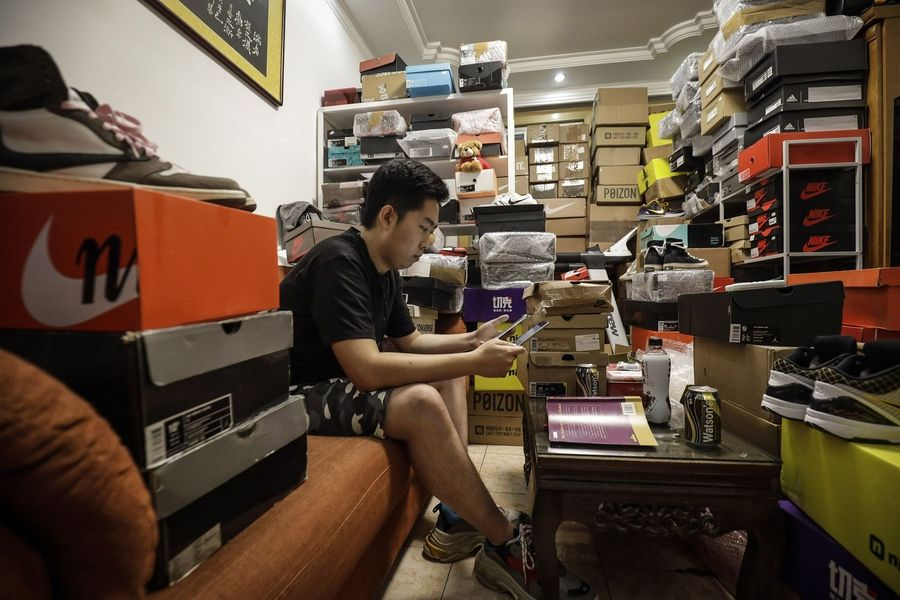 China's sneakerheads chase 6,600% returns flipping Air Jordans