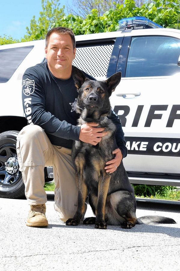 "Lake County sheriff's office police dog Dax and partner Deputy John Forlenza will appear on the ""Today Show"" Monday morning to preview their appearance later Monday night on the American Humane Hero Dog Awards show."