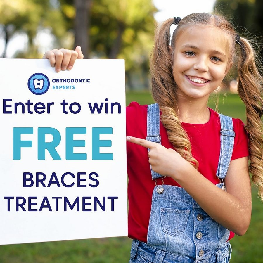 Orthodontic Experts' 2019 Braces Giveaway Contest will provide 14 full orthodontic treatments to children in need.