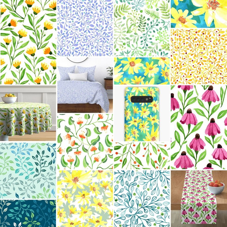 Prairie Beauty Fabric CollectionZoe Feast