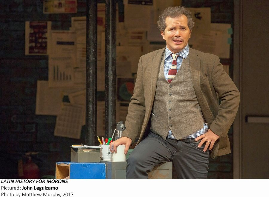 "John Leguizamo's Broadway comedy ""Latin History for Morons"" comes to the Cadillac Palace Theatre in Chicago for seven performances from Tuesday, Oct. 29, to Sunday, Nov. 3."