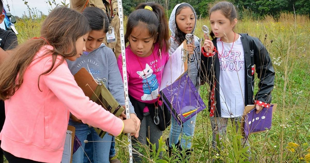 CFC's Fourth Graders on the Prairie cultivates citizen scientists