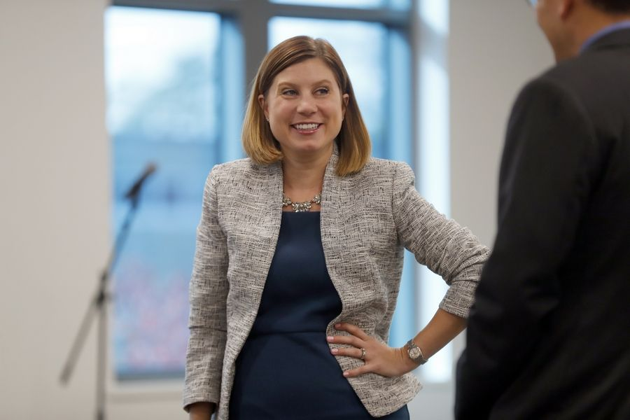 As the new president and CEO of the Naperville Area Chamber of Commerce, Kaylin Risvold says she plans to ask a lot of questions to help the business group meet the needs of its members and community.