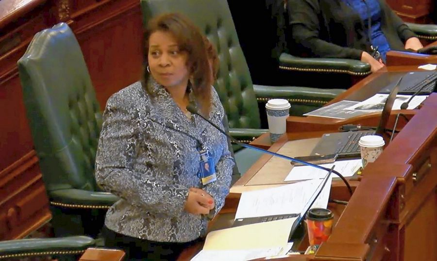 Rep. Rita Mayfield, a Waukegan Democrat, is the sponsor of a proposal to phase out the use of ethylene oxide except in sparsely populated areas of the state.