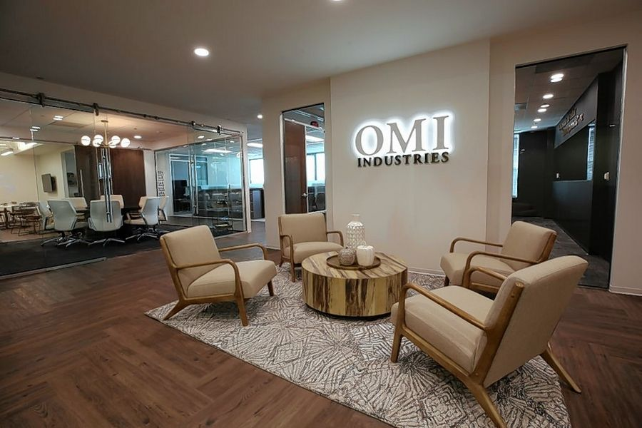 The Gateway Center on Smith Street in downtown Palatine will be the new home for OMI Industries' corporate headquarters. The company is moving from its previous home in an office park near Kemper Lakes Golf Club in Kildeer.