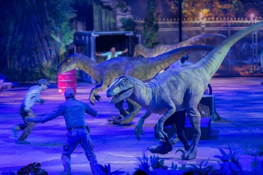 """Jurassic World"" plays the Allstate Arena in Rosemont through Sunday, Nov. 3."