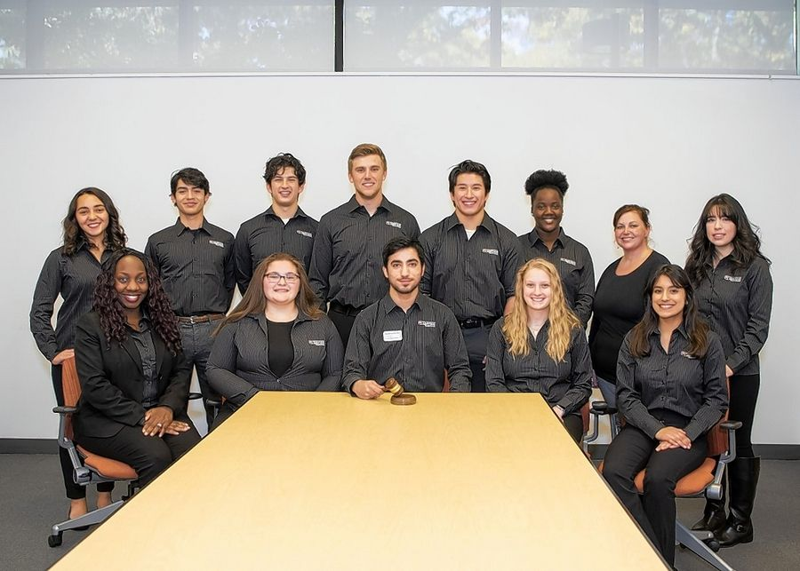 Waubonsee Community College's Student Government for 2019-20 includes: front, from left, Angela Nwalie, Rachel Diaz, Zoraiz Asif, Rachel Wozniak, Saida Vargas; and back row, from left, Pauline Schallmo, Samuel Ochoa, David Garcia, Tyler Venditti, Marcos Garcia, Folaoluwashewa Shofu, Kristin Herout and Andrea Aguirre.