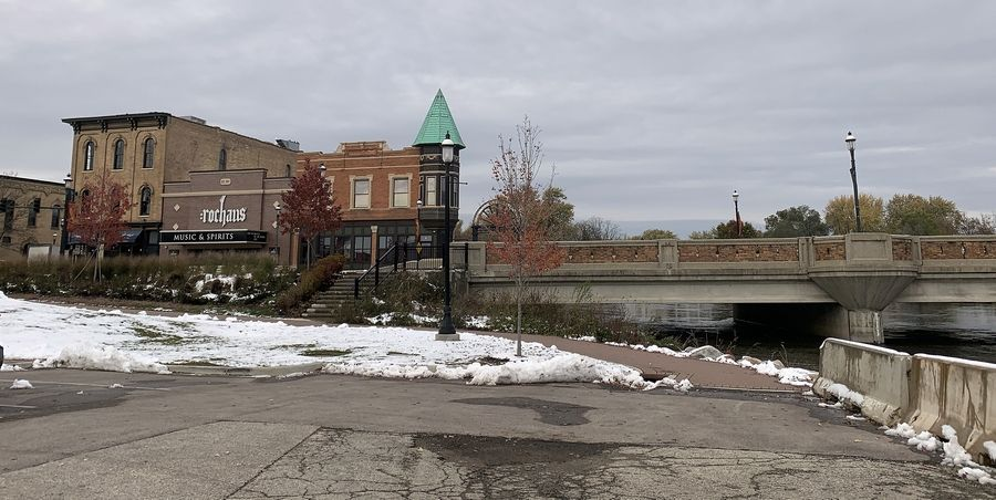 Completing the riverwalk and parking lot upgrades between Main Street and Oregon Avenue are the key components of a second phase of West Dundee's downtown plan, for which the village recently awarded construction bids.