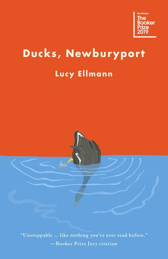 "This cover image released by Biblioasis shows ""Ducks, Newburyport,"" by Lucy Ellmann. (Biblioasis via AP)"